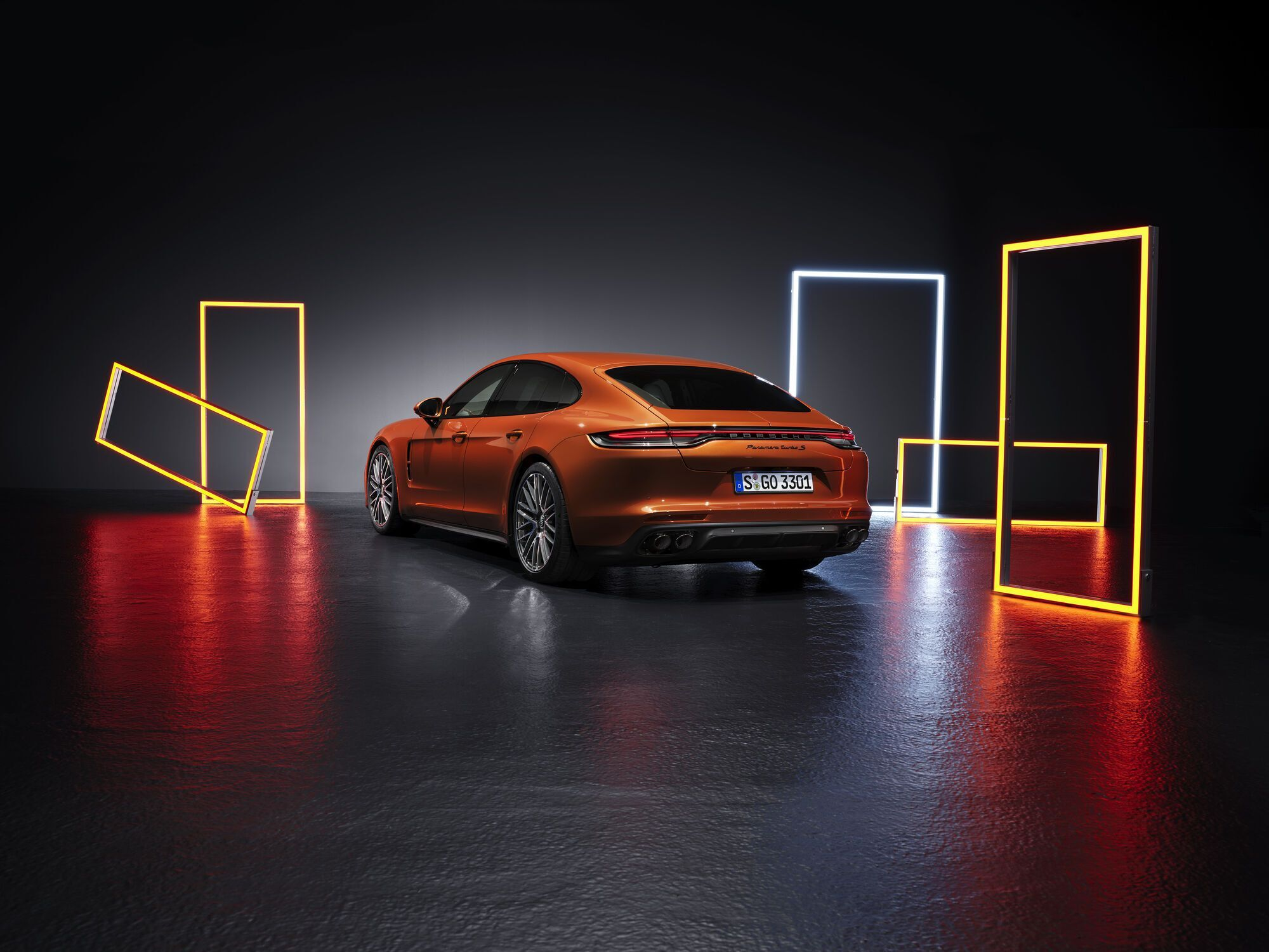 +2021 Porsche Panamera Turbo S. Фото: