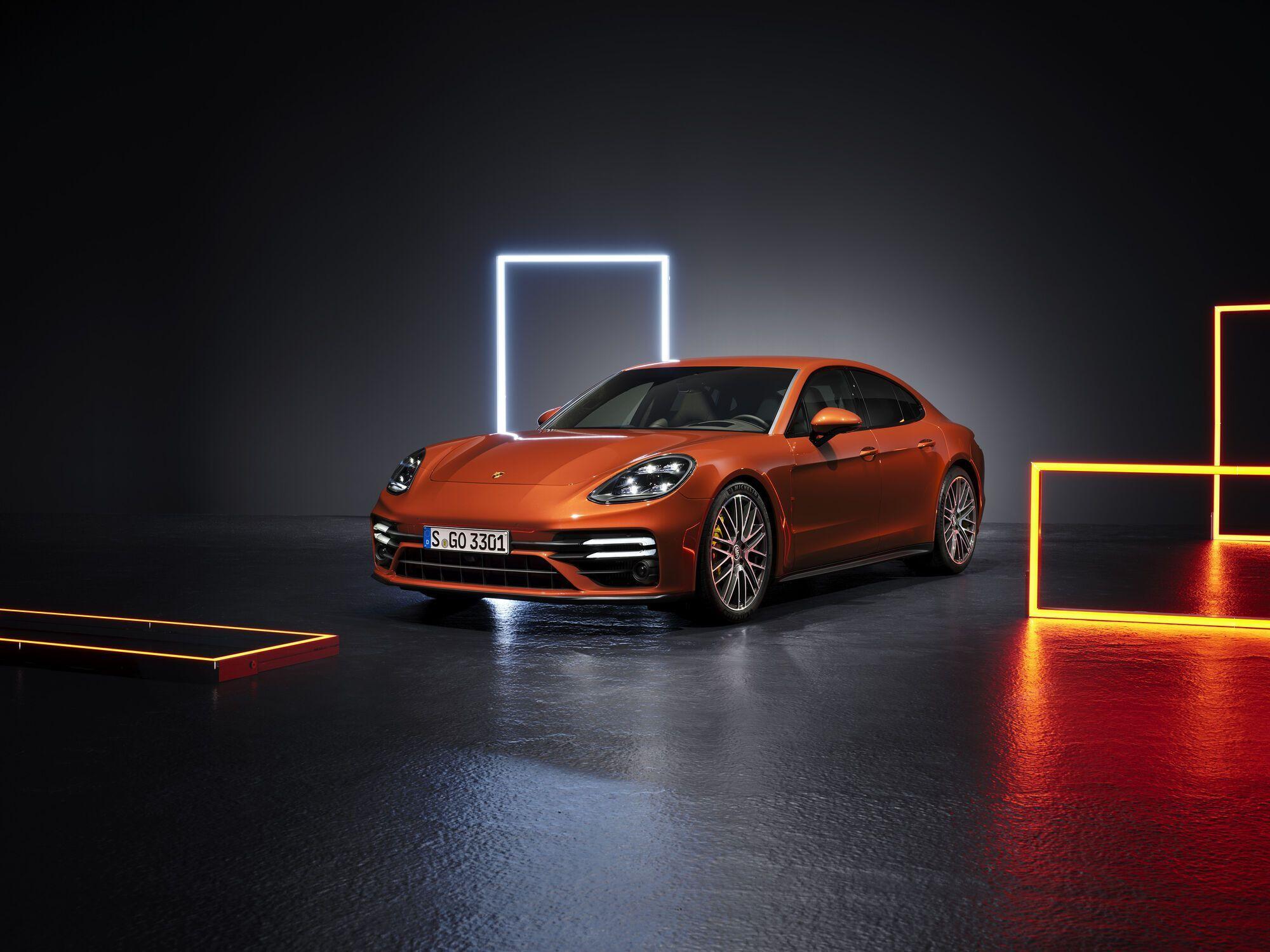 2021 Porsche Panamera Turbo S. Фото:
