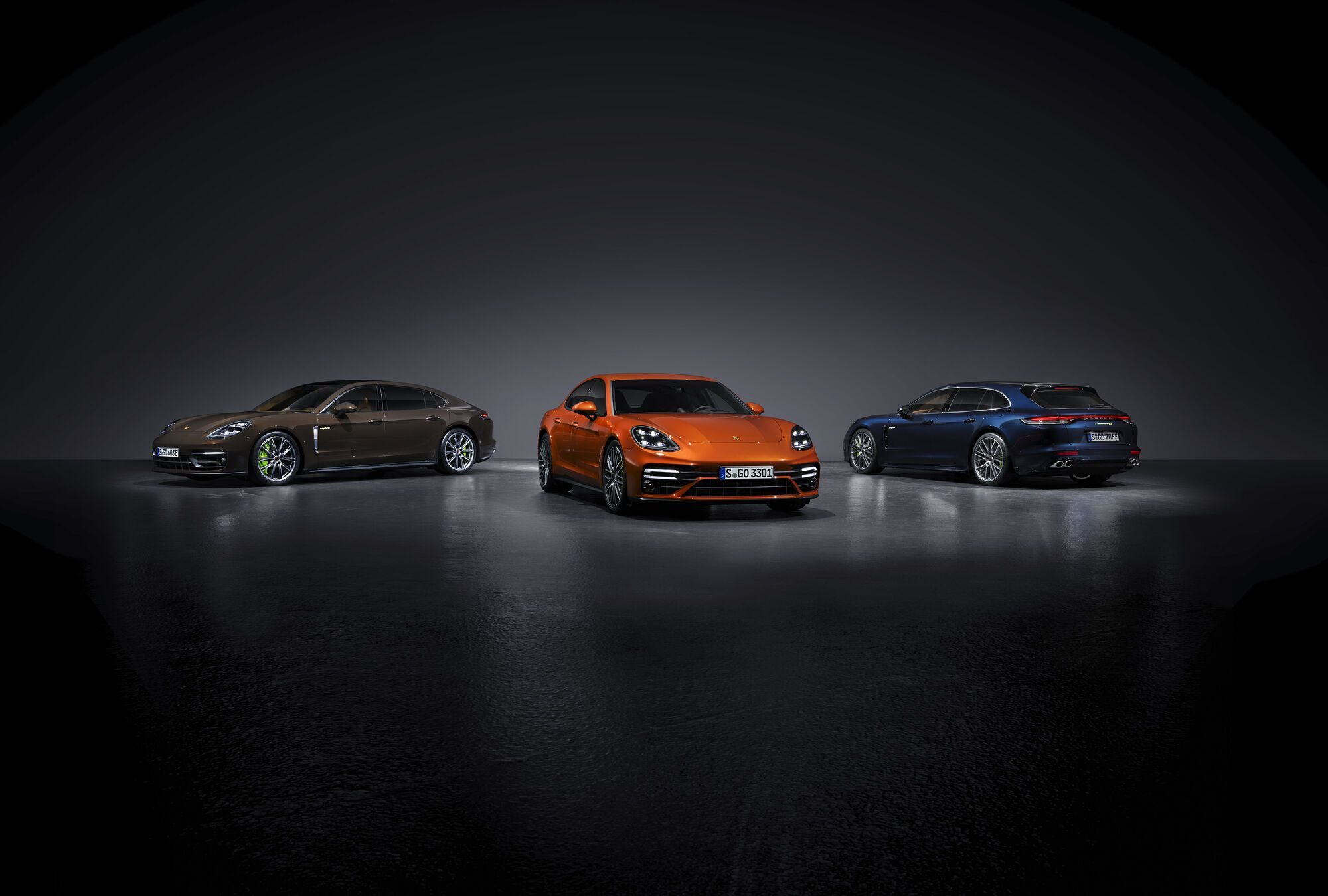 Сімейство Porsche Panamera 2021 модельного року. фото: