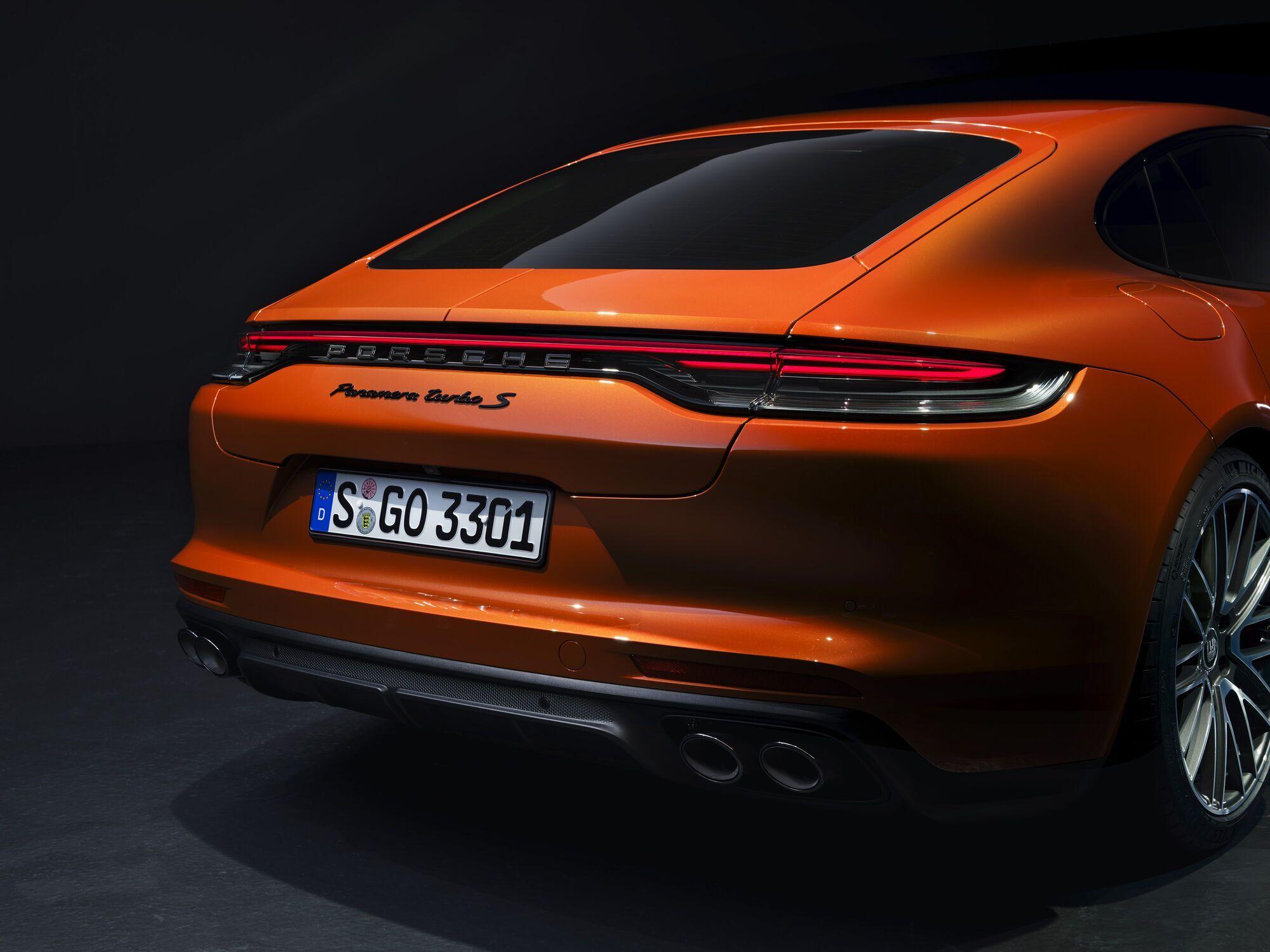 2021 Porsche Panamera. фото: