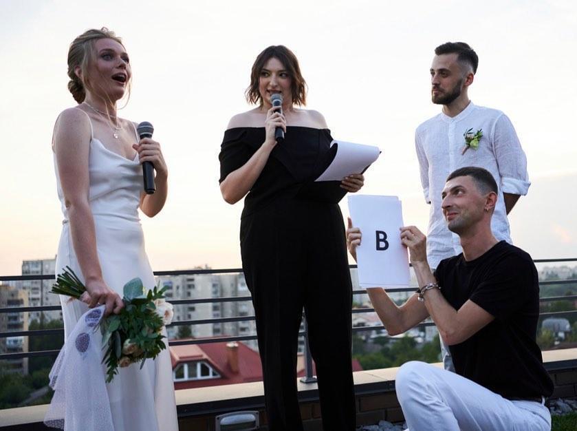 Свадьба Гордиенко и Блажкевича