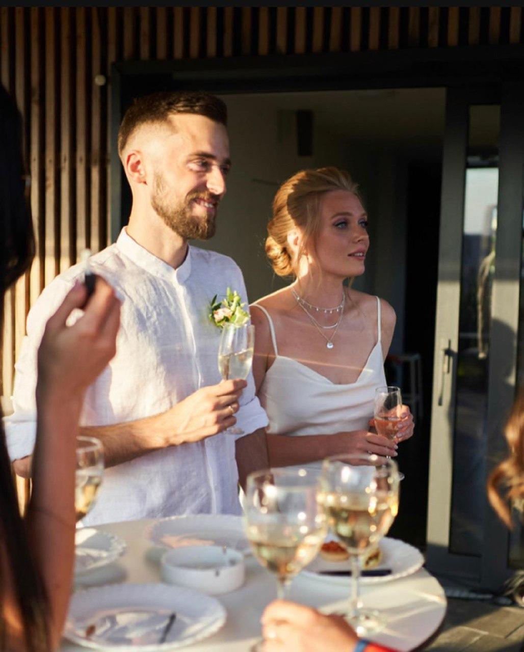 Гордиенко и Блажкевич поженились
