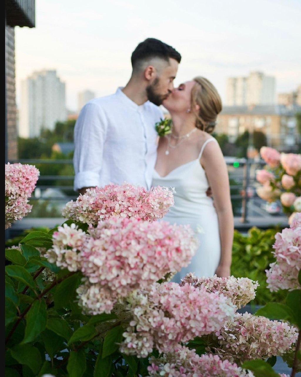 Алина Гордиенко и Роман Блажкевич поженились