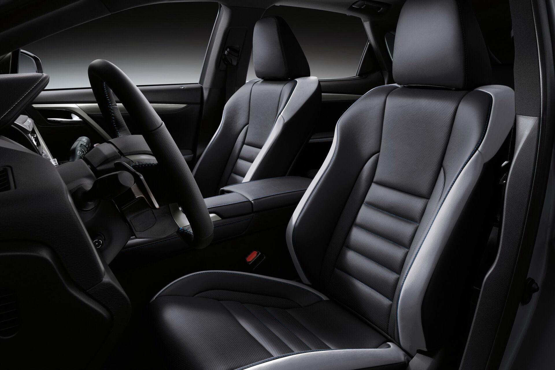 2021 Lexus RX Black Line. фото: