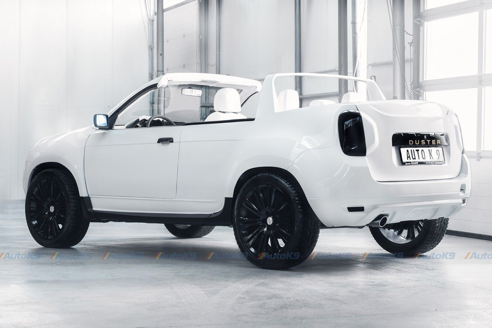 Dacia Duster Cabrio.