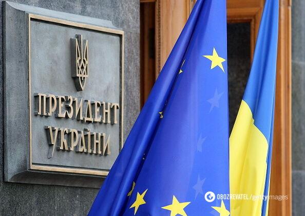 В Офісі президента вважають, що українці самі вирішать, чи вступати державі в ЄС