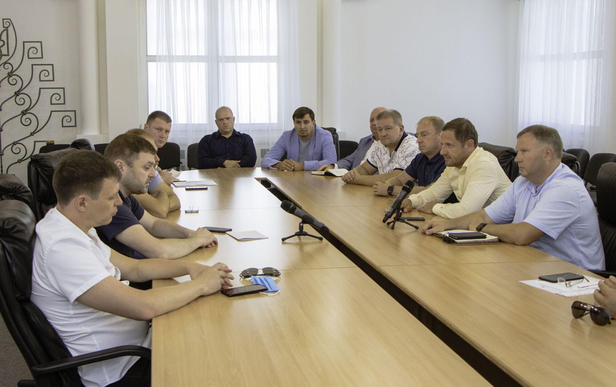 В Днепровском горсовете состоялось очередное заседание комиссии Общественного контроля