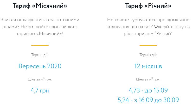 """""""Нафтогаз"""" увеличил стоимость газа в годовом тарифе"""