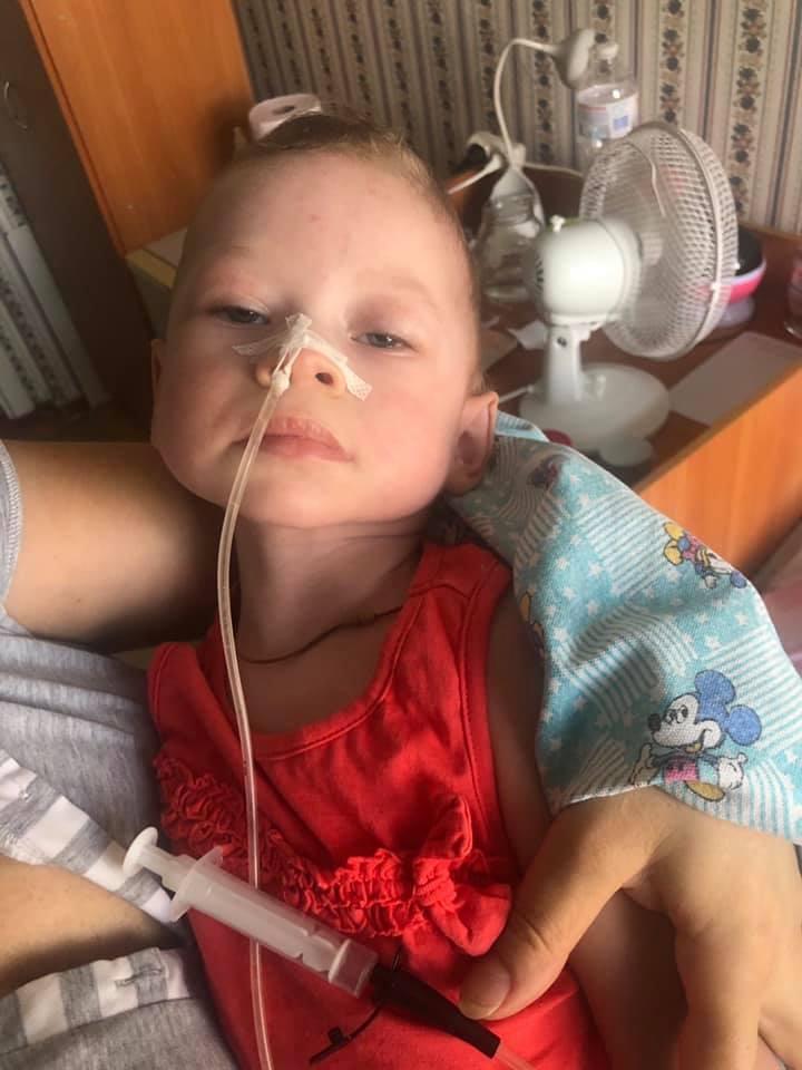 Маленькая Ника осталась инвалидом
