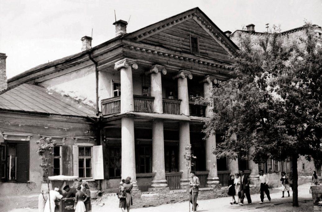 Дом на улице Московской, 40, в Киеве в 30-х годах