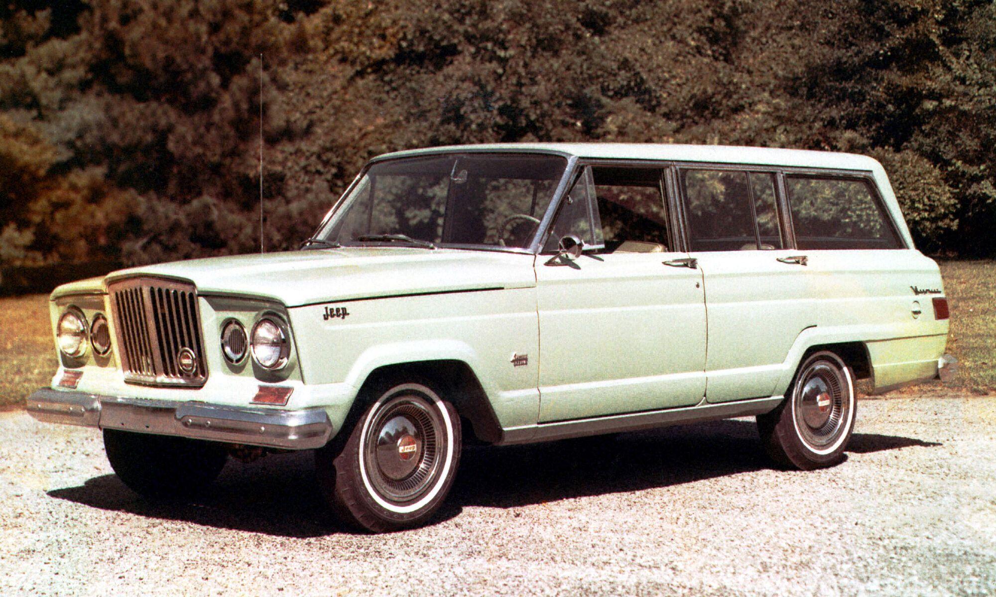 1963 Jeep Wagoneer. Фото: