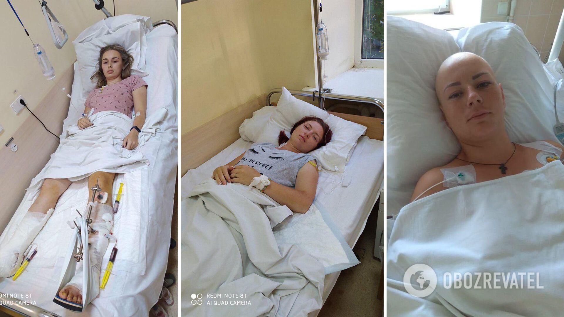 Пострадавшие девушки сейчас в военном госпитале в Киеве.