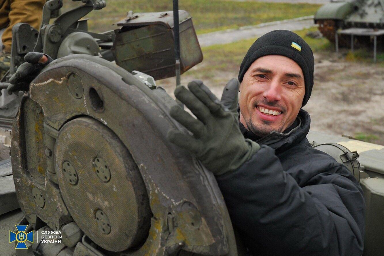 Дмитрий Каплунов в зоне ООС