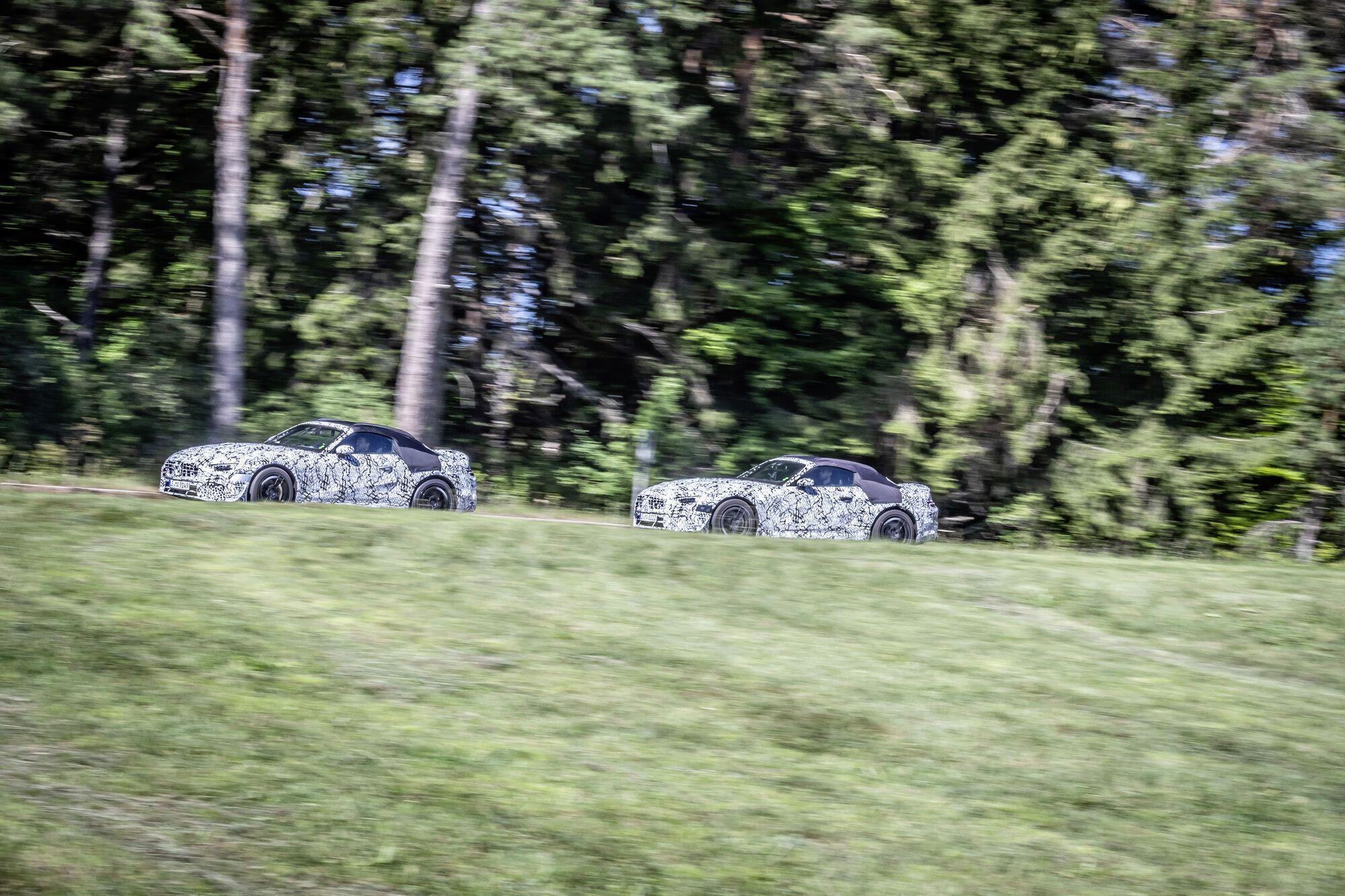 2021 Mercedes-Benz SL. Фото: