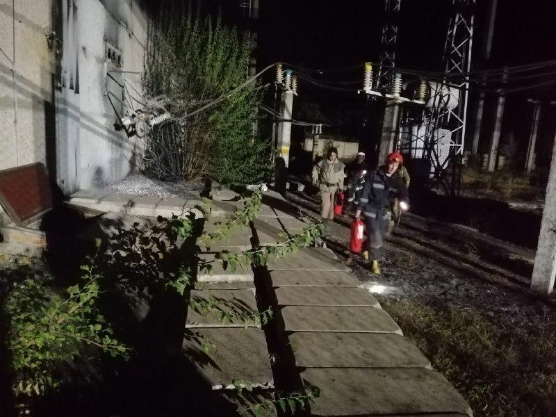Площа пожежі становила 500 кв. м