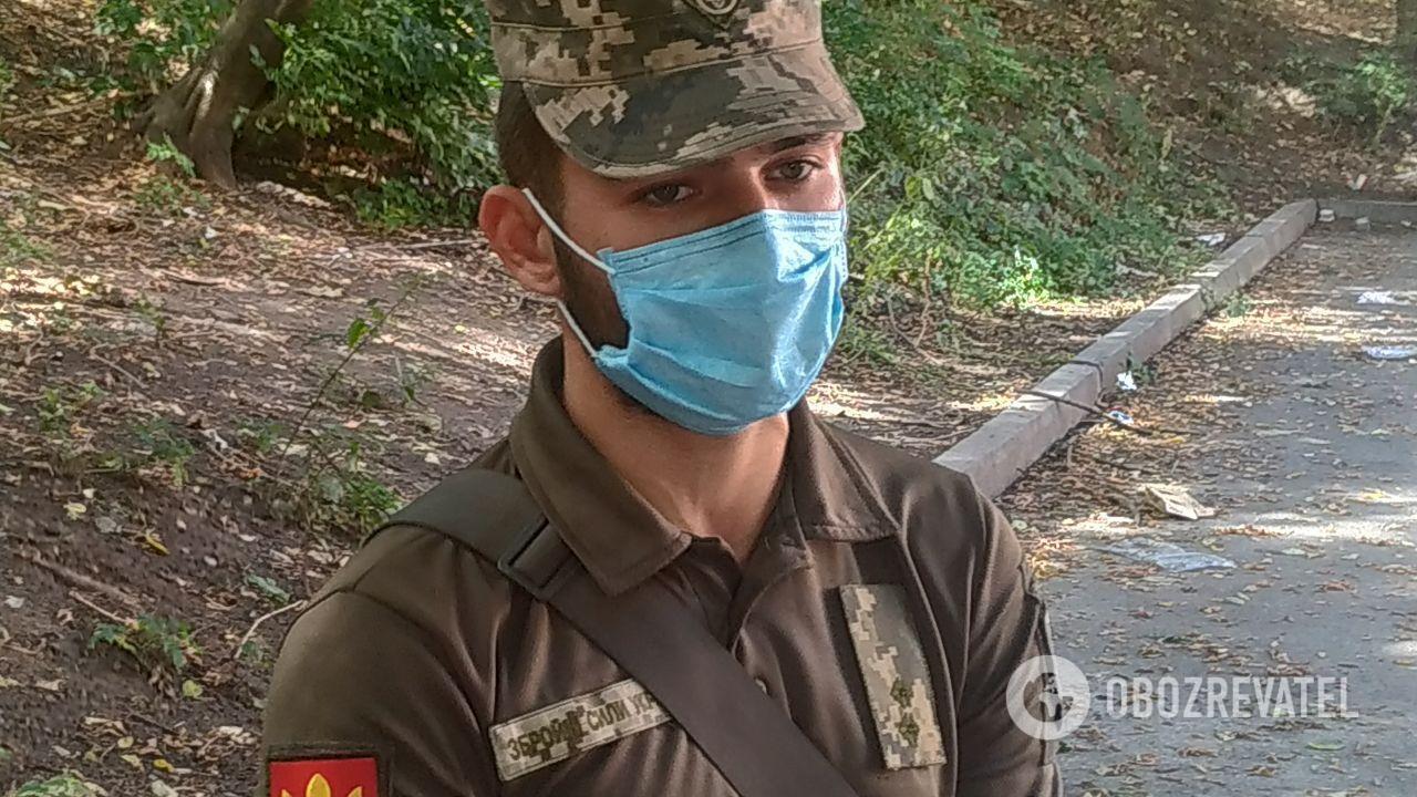 Брат пострадавшей в ДТП – Серафим – служит в районе проведения ООС