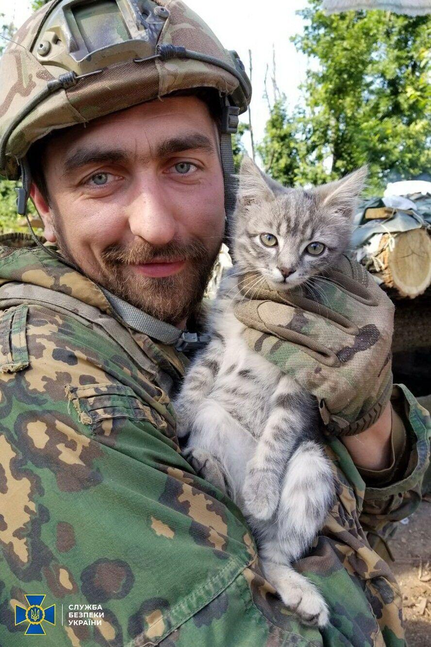 Денис Волочаев на войне