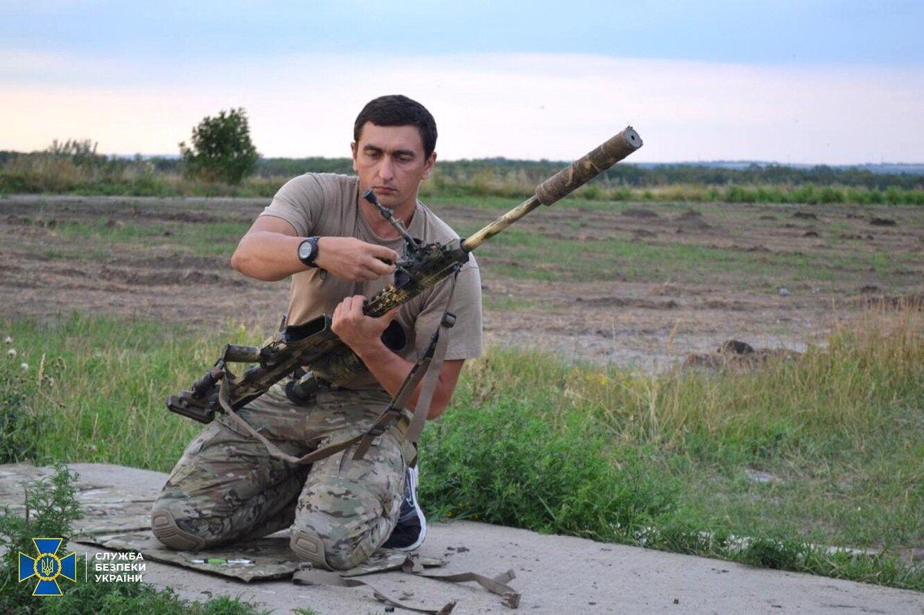 Полковник Волочаев был одним из лучших снайперов Украины