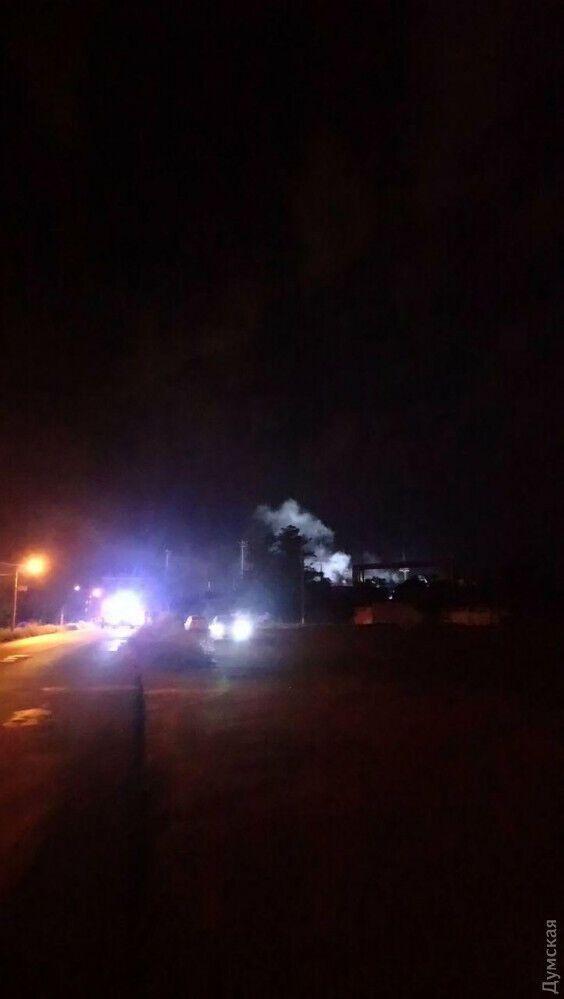 На території Одеського НПЗ прогримів вибух
