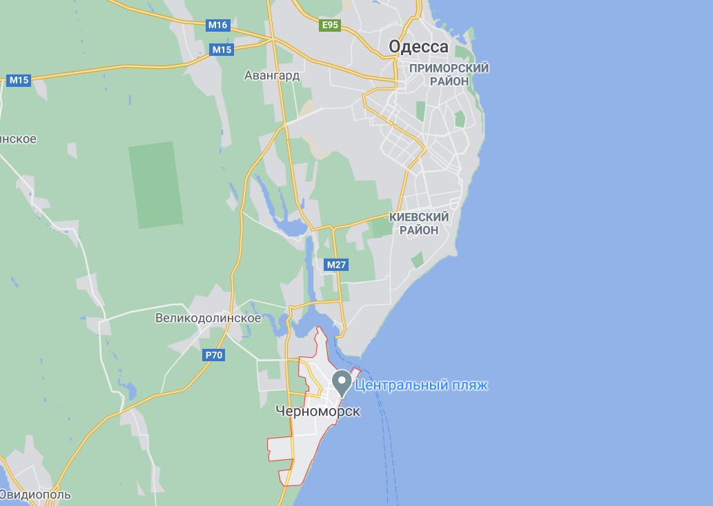 Міну знайшли в Чорноморську Одеської області