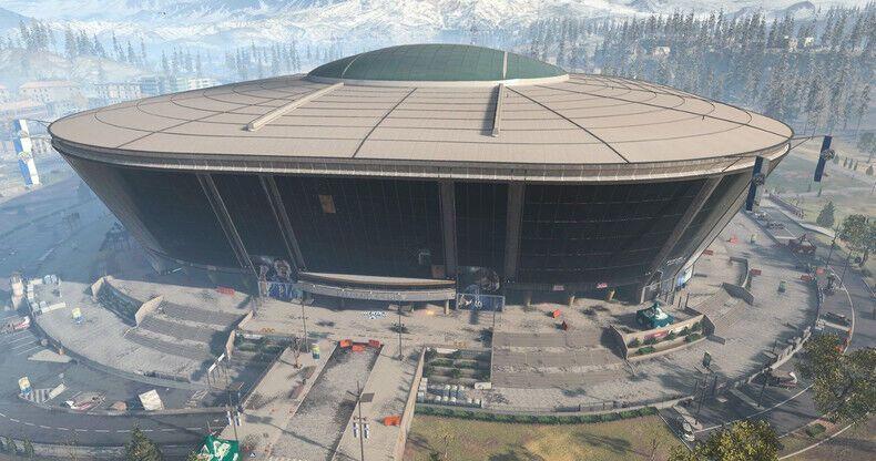 Стадіон у грі Call оf Duty: Warzone