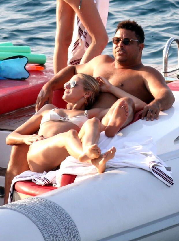 Роналдо разом з Селін на яхті