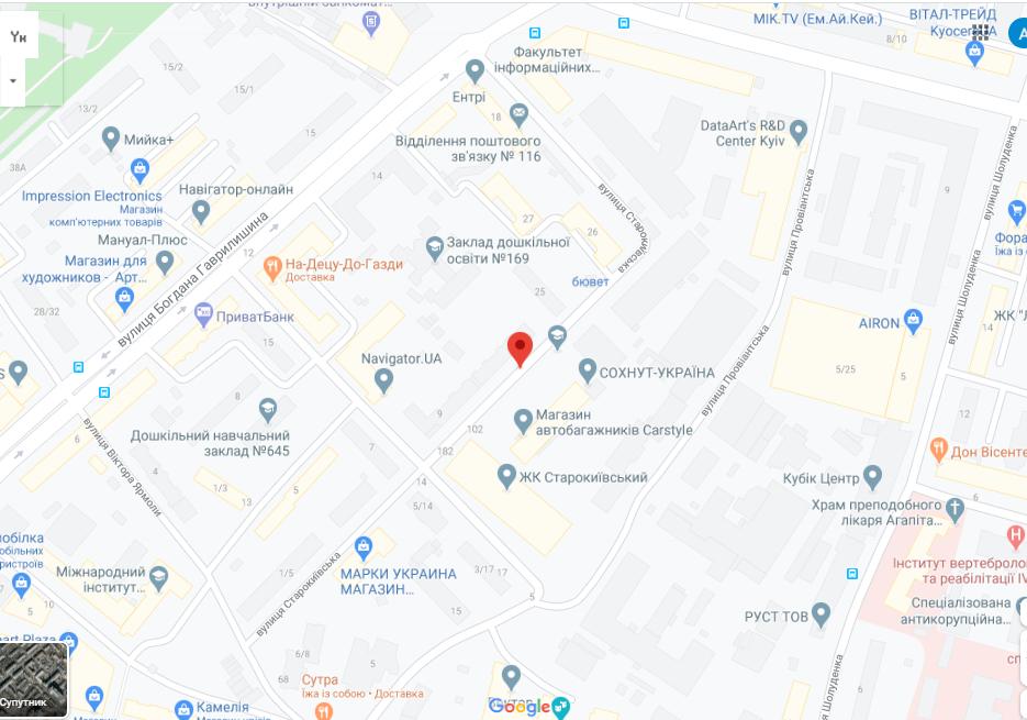 Вулиця Старокиївська