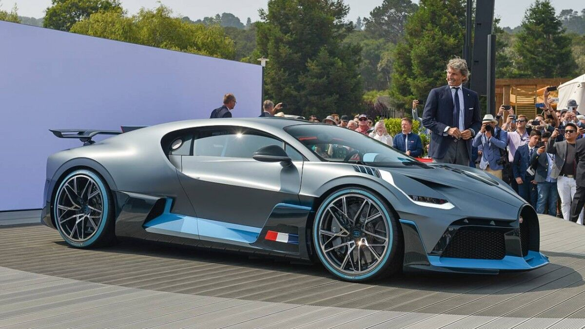 Bugatti Divo.