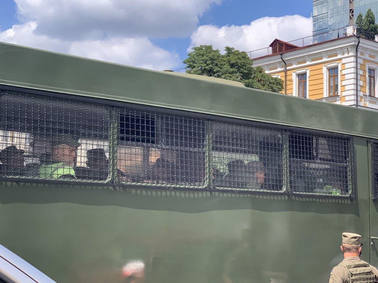 """В Киеве была введена специальная полицейская операция """"Гром"""""""