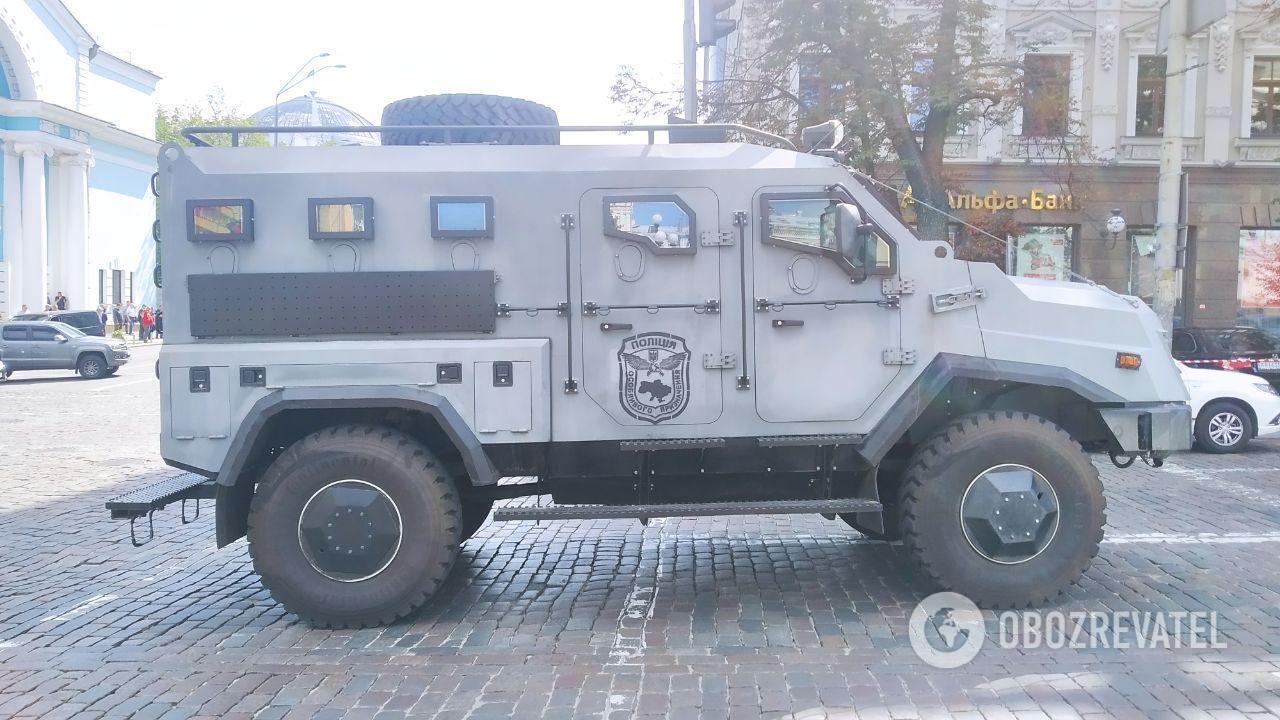 На месте происшествия создали оперативный штаб СБУ и полиции