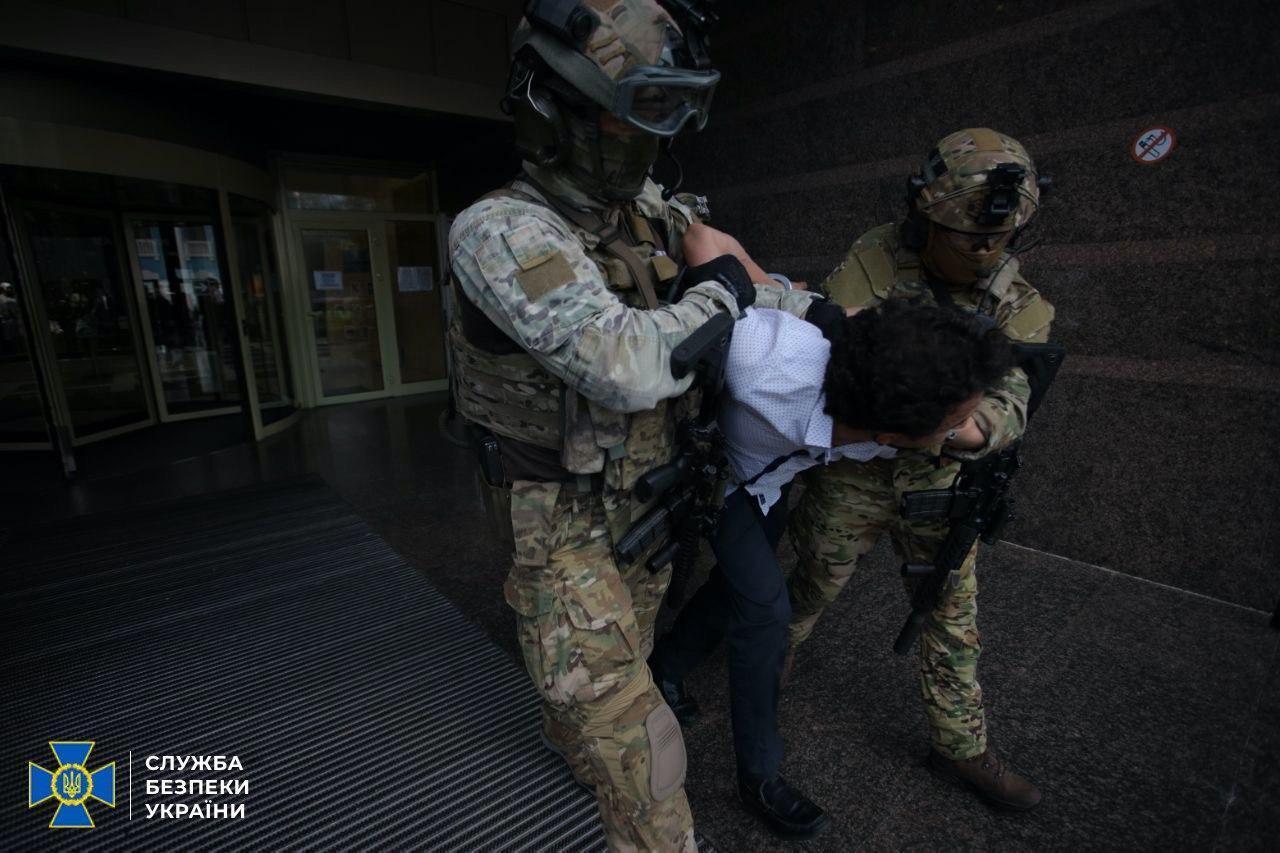 Захват террориста в Киеве