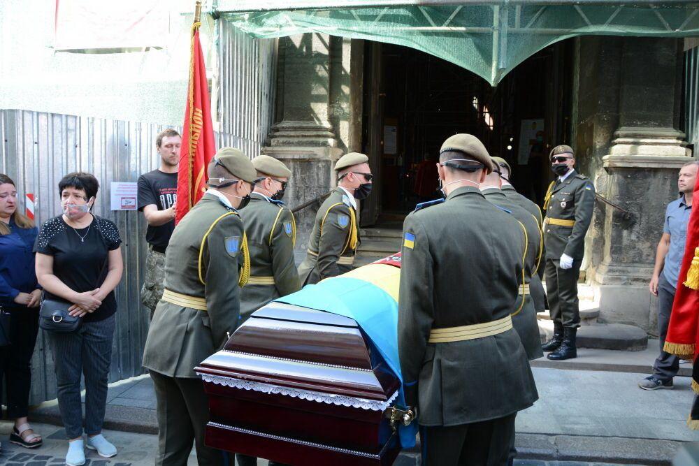 Андрія Гергерта поховали на Личаківському цвинтарі у Львові