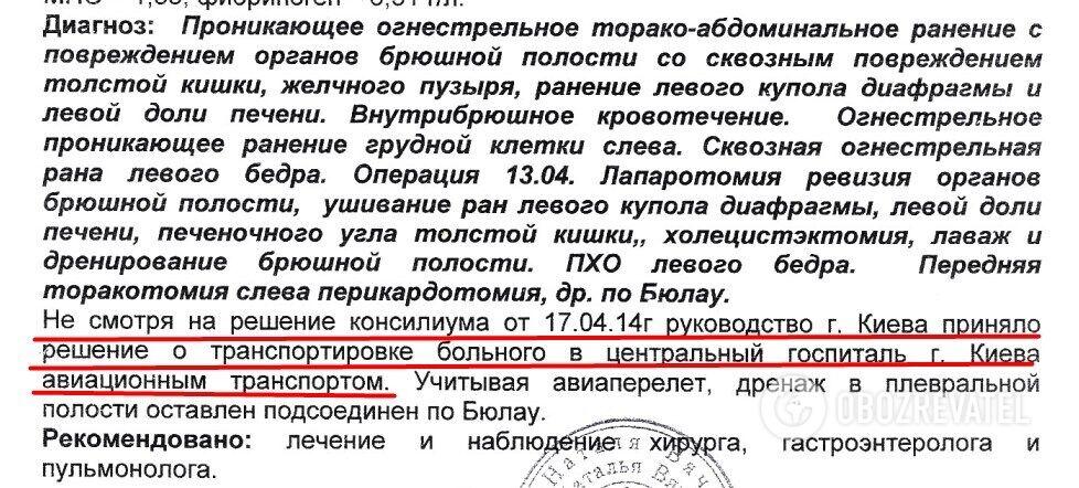 Андрій Дубовик отримав важкі поранення