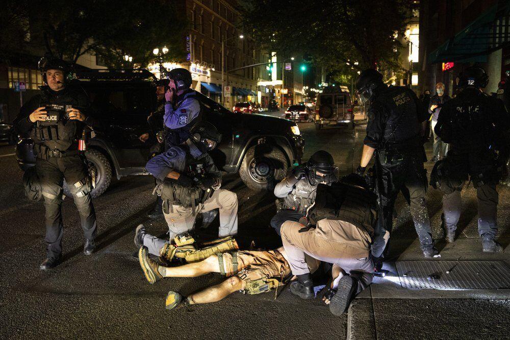 В ходе беспорядков в Портленде застрелили мужчину