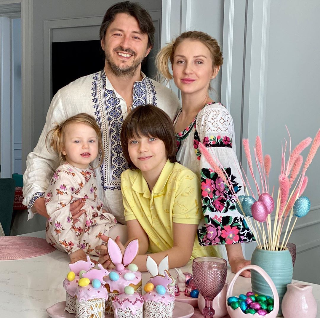 Семья Сергея Притулы