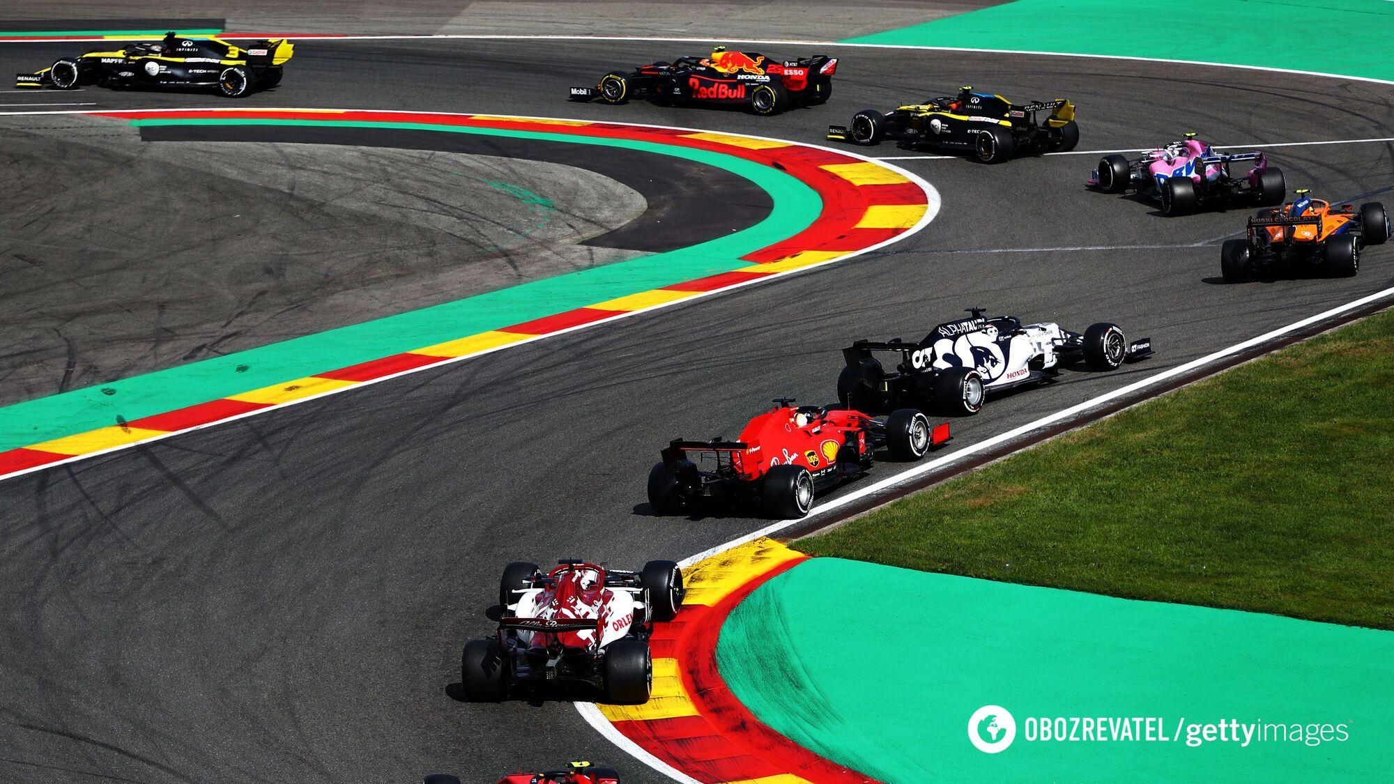 Гран-прі Бельгії: гонка
