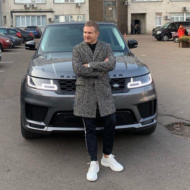 Юрій Горбунов вибрав авто марки Range Rover