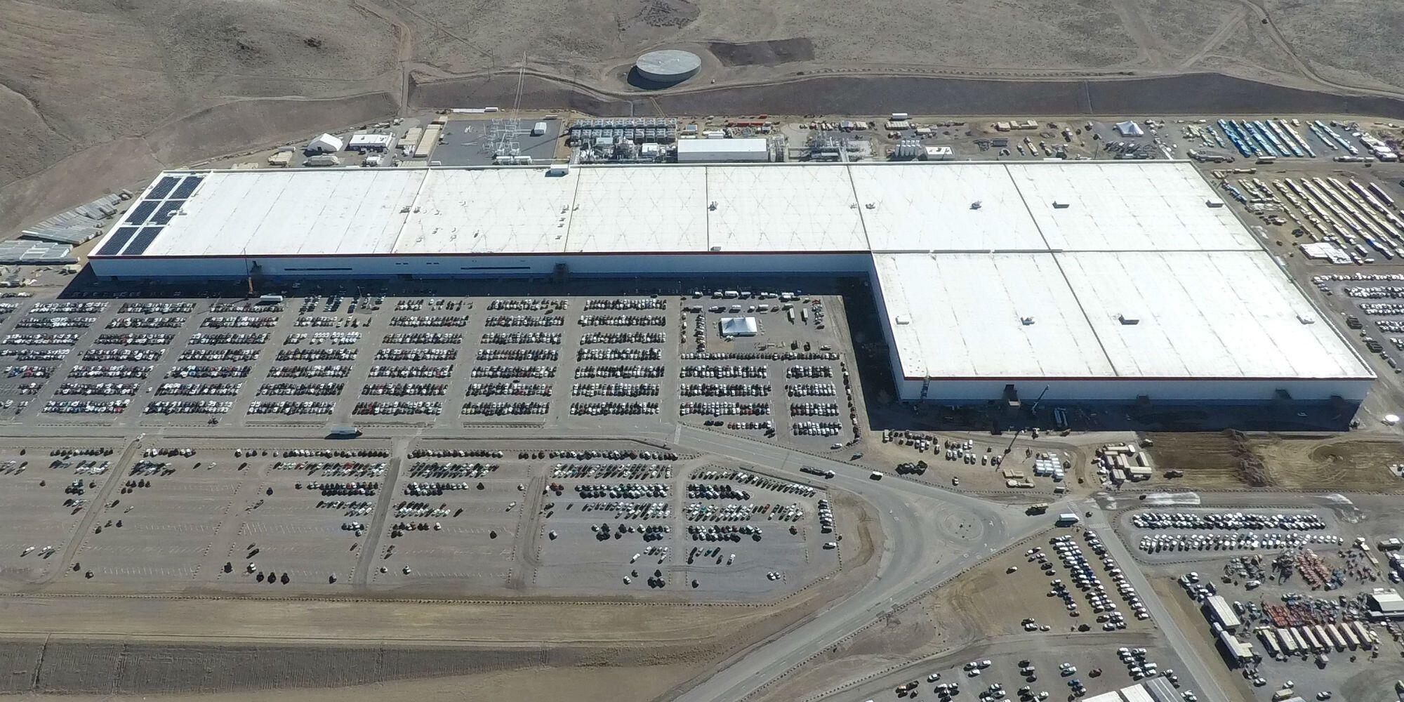 Завод Gigafactory в Неваде, на который планировалась хакерская атака.