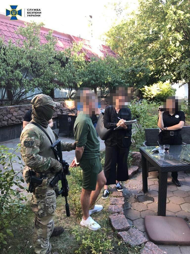 Ймовірного замовника впіймали в Одесі