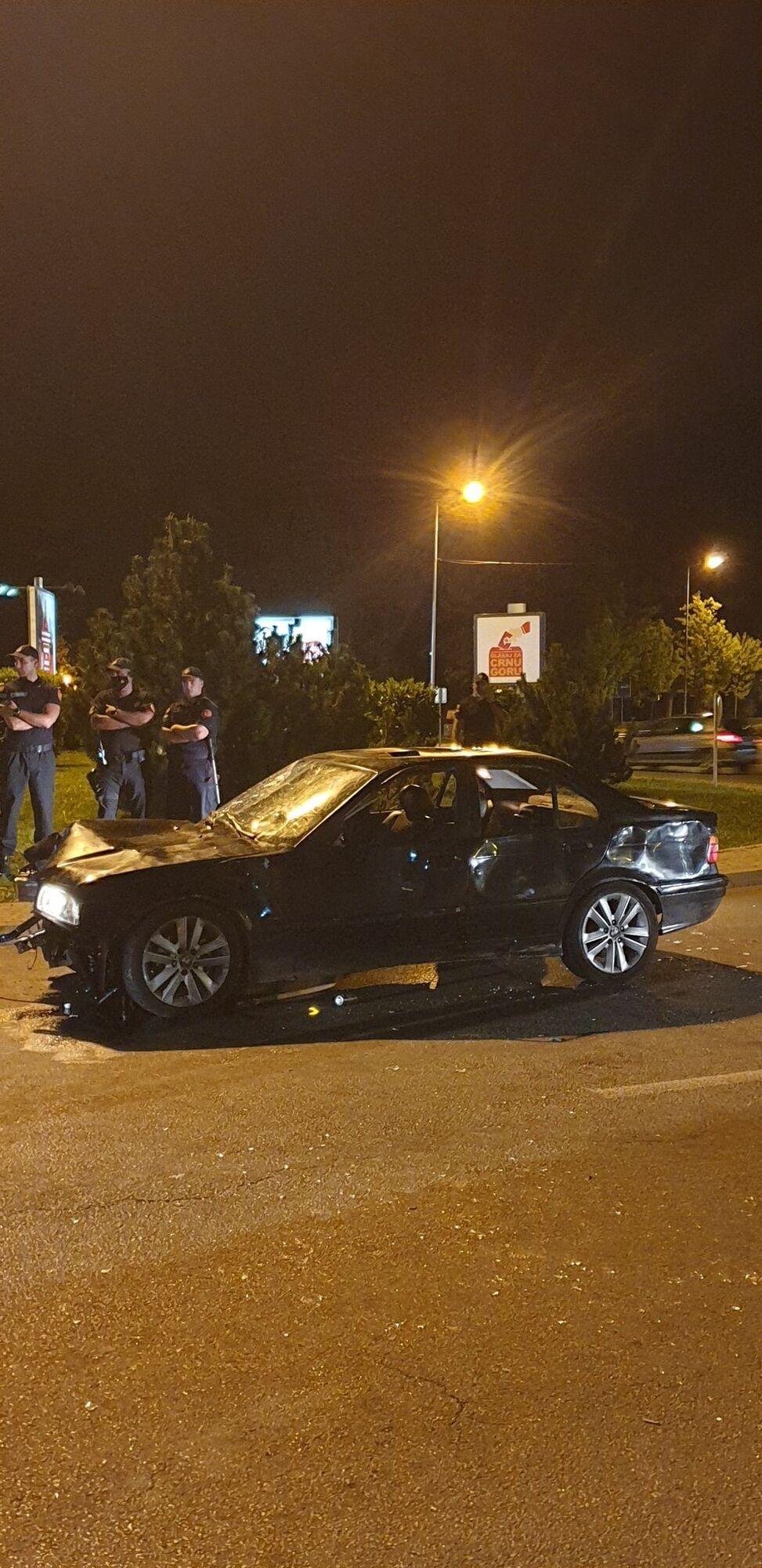 Аварія в місті Нікшич