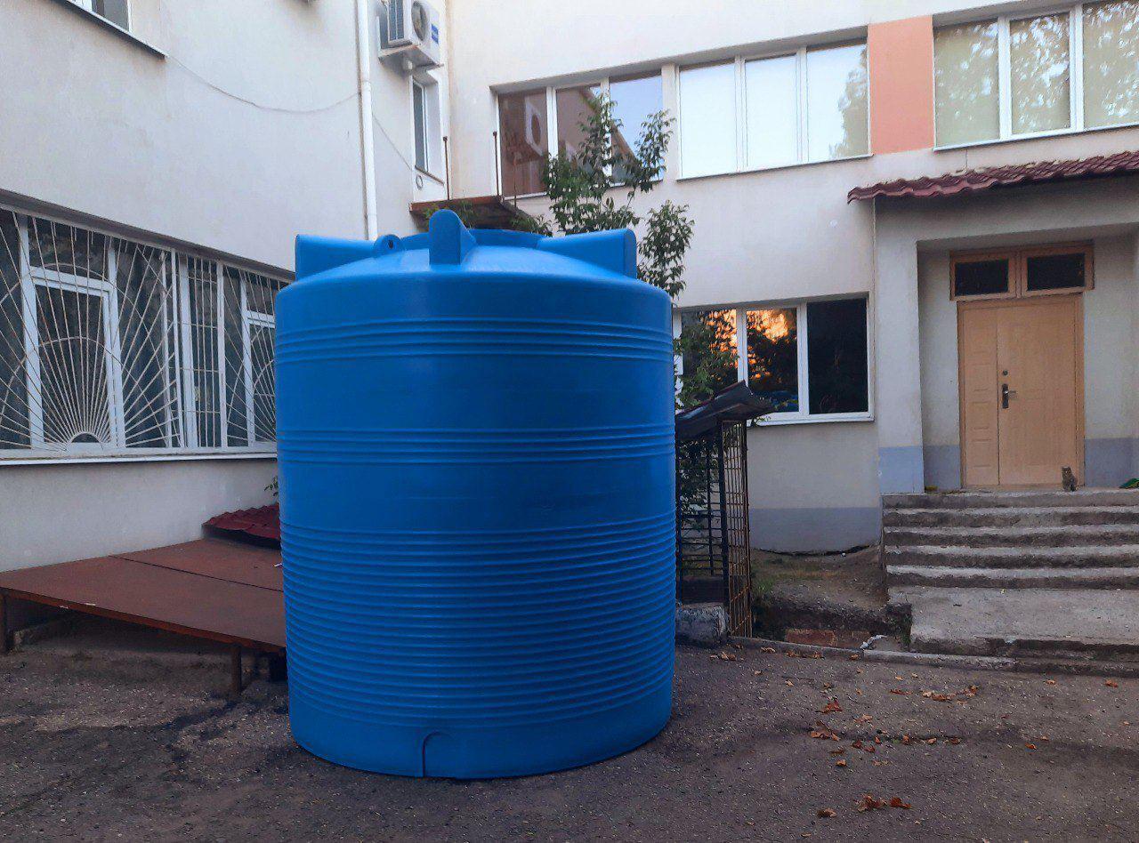 Воду крымчанам будут подавать в специальные баки
