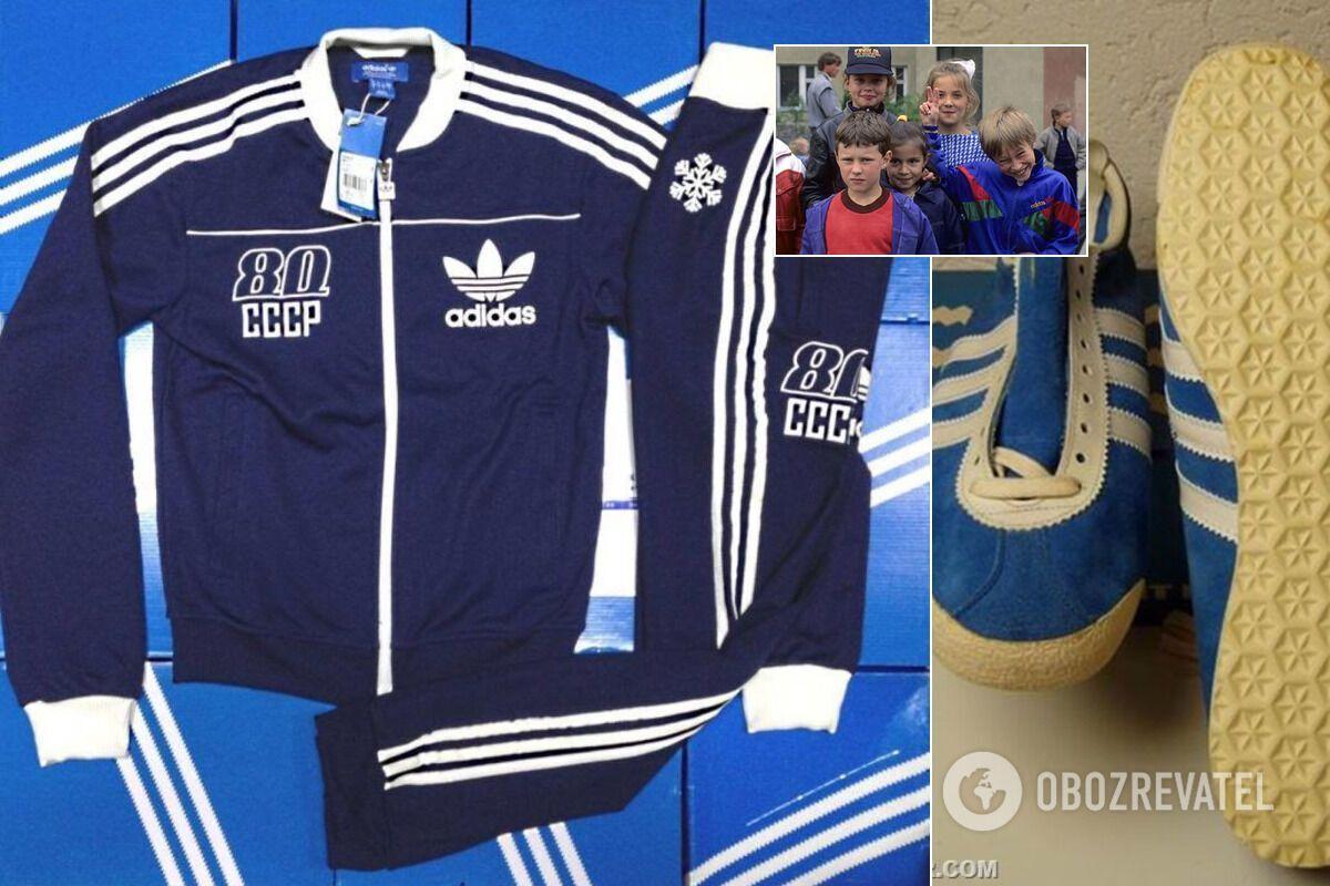В СССР многие хотели иметь одежду от Adidas