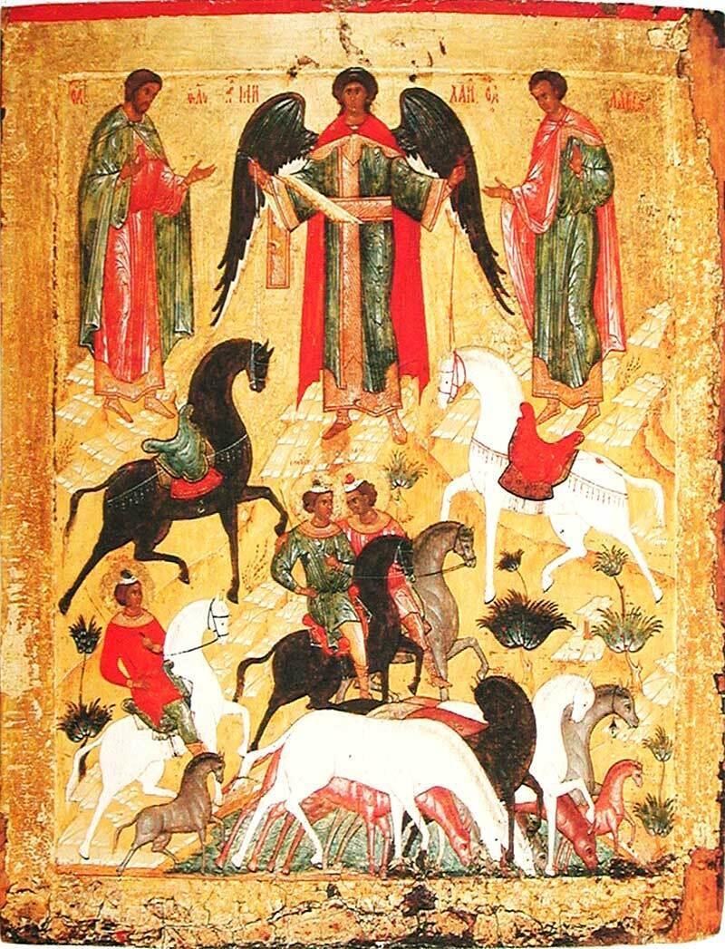 Святые Флор и Лавр считаются покровителями лошадей
