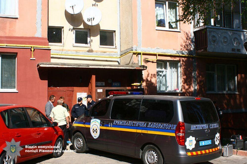 Дом в Ривне, где жил и был застрелен Иван Мамчур
