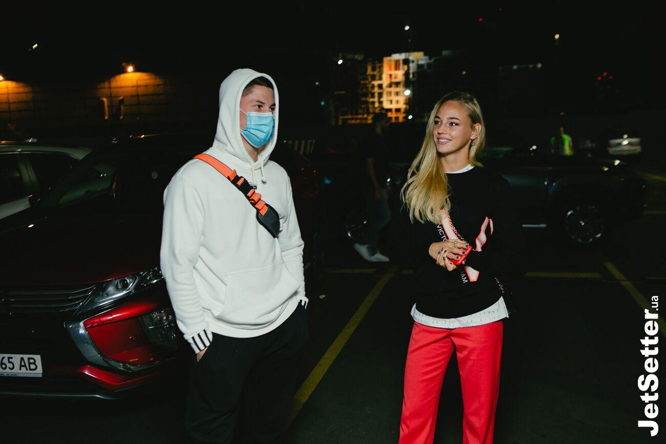Денис Попов и Дарья Белодед посетили вместе премьеру ленты о дзюдоистке