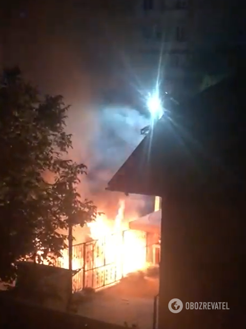 На Закарпатье сгорело авто лидера еврейской общины