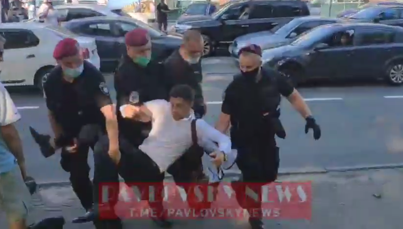 Поліція затримала організатора акції