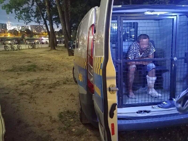 В Варшаве польские полицейские задержали украинца