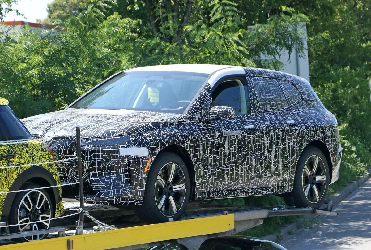 BMW iNext помічений на тестах. Фото: