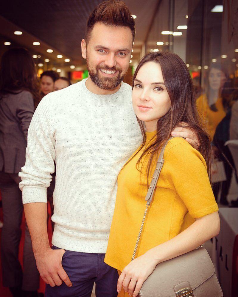 Тимур Мирошниченко с женой Инной